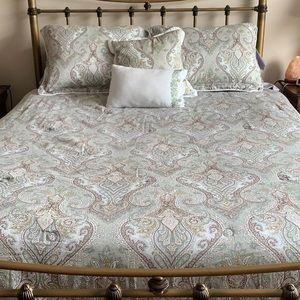 Paisley  bed set